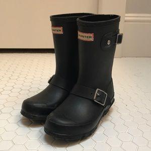 Hunter toddler girls original biker rain boots